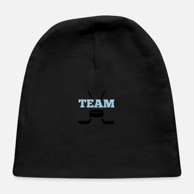 Hockey Team puck team ice hockey - Baby Cap