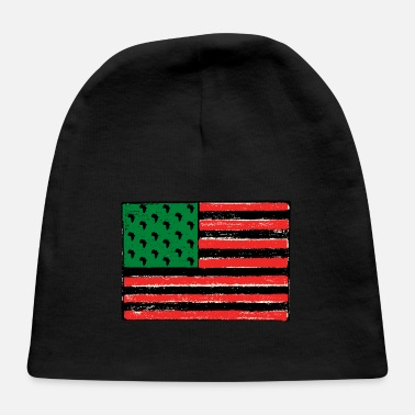 Red Red Green Black Flag - Baby Cap