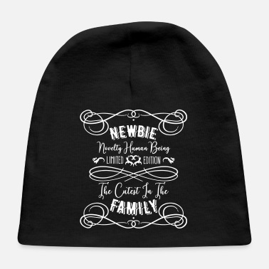 NEWBIE Novelty Human Being funny baby motif - Baby Cap