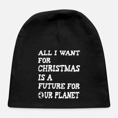 Enviromental Climate Change Design for Christmas - Baby Cap