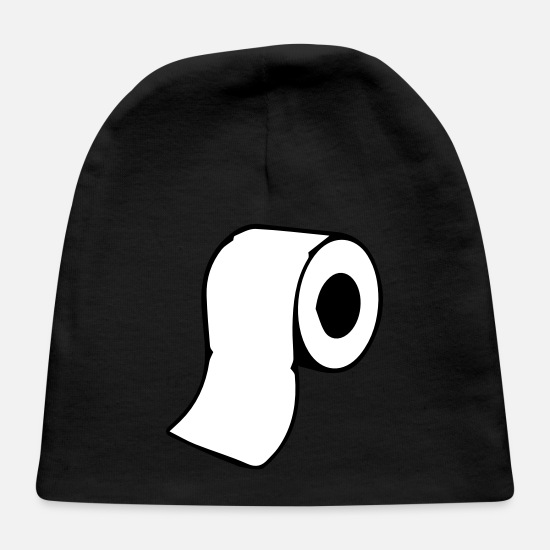 Clean Baby Caps - toilet paper - Baby Cap black