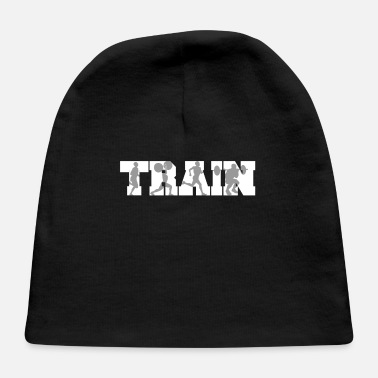 Training Train Fitness Silhouettes Training - Baby Cap