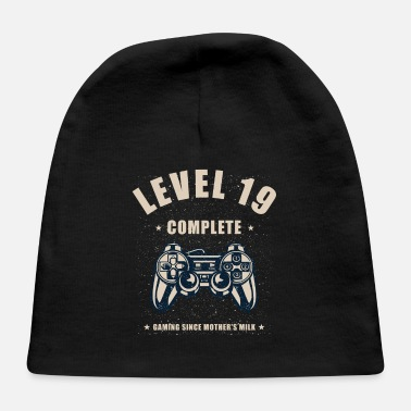 Lanparty Level 19 Complete Video Gaming T Shirt - Baby Cap