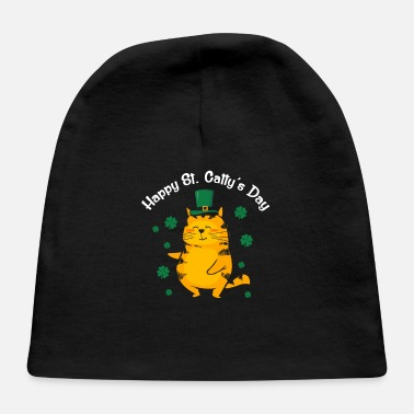 Day Cute Happy St. Catty's Day St. Patrick's Day 2020 - Baby Cap