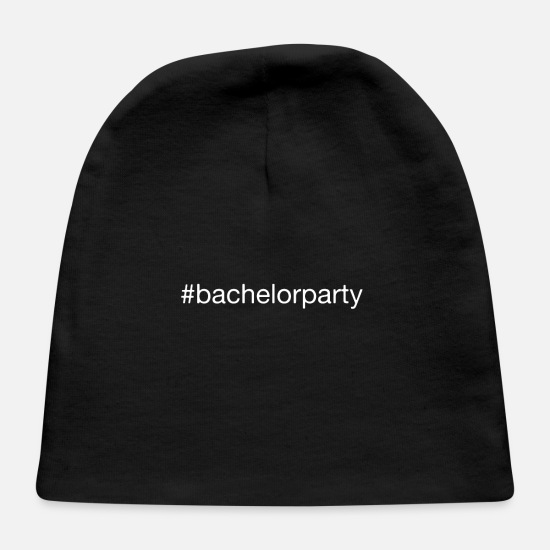 Bride Baby Caps - #bachelorparty bachelorparty party wedding gift - Baby Cap black