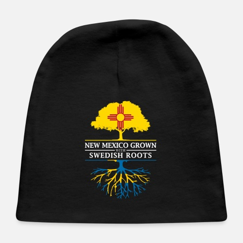 40c9720bdcb New Mexico Grown with Swedish Roots Sweden Design Baby Cap