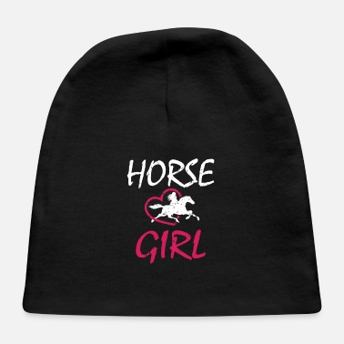 Cowboy Girls HORSE GIRL - Baby Cap