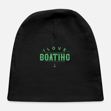 Boat Boats Boating Crew - Baby Cap