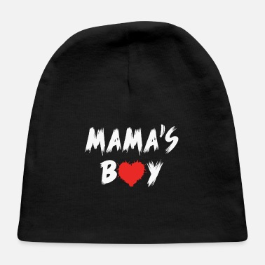 Boy BOYS VALENTINE SHIRT, valentines day, mama's Boy - Baby Cap