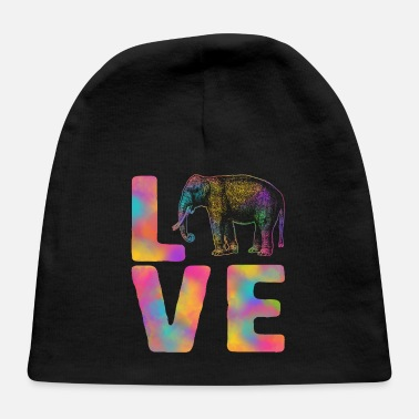 Bhang Love Happy Holi Colorful Elephant India Dance - Baby Cap