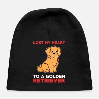 Retriever Golden Retriever Valentine Golden Retriever lover - Baby Cap