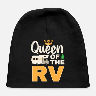 Mobile Queen Of The RV Mobile Home rv owner Shirt - Baby Cap