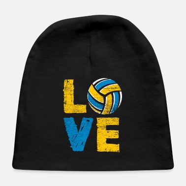 Bed Volleyball Love - Baby Cap