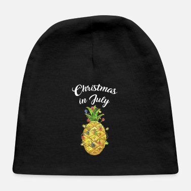 Elf Christmas In July Pineapple Xmas Tree Lights - Baby Cap