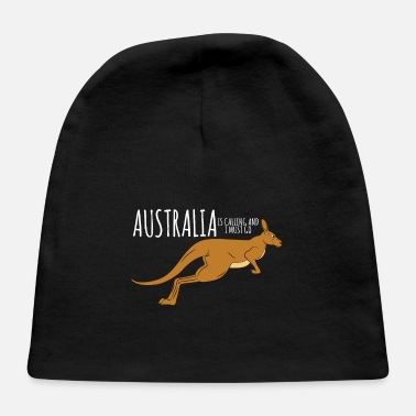 Animal Kangaroo-Australia Is Calling And I Must Go - Baby Cap