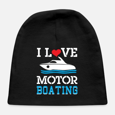 Boat Boating Boat Ship Motorboat Gift - Baby Cap