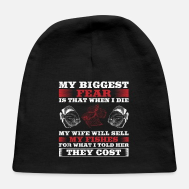 Aquarium Funny Fish Design Quote What I Told Her They Cost - Baby Cap
