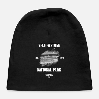 Geographic Yellowstone National Park USA Wyoming Prismatic - Baby Cap