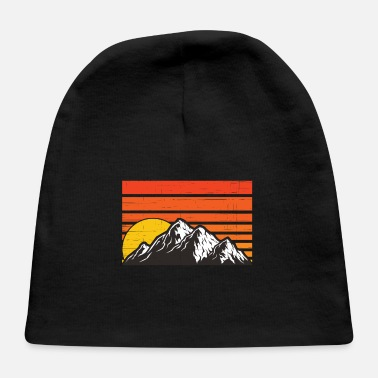 Mountains Mountains Mountain Sports Mountain Equipment - Baby Cap