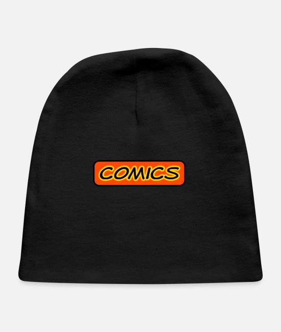 Cool Baby Hats - Comics - Baby Cap black
