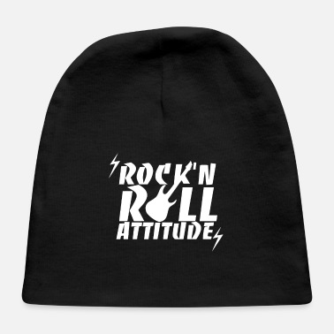 Rock Music Rock And Roll Rock Music Rock Music Gift - Baby Cap