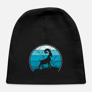 Capricorn Hiking Mountain Climber Gift - Baby Cap