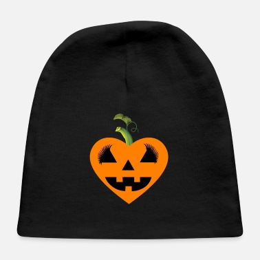 Eyelashes Pumpkin heart eyelash - Baby Cap