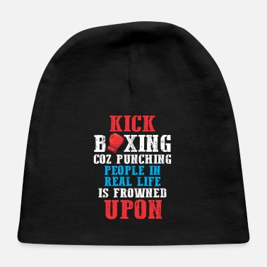 Brazilian Sarcastic Kickboxing Humor Funny Boxing Fighter - Baby Cap