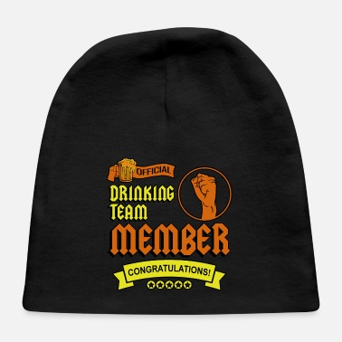 Congratulations Official Drinking Team Member Congratulations - Baby Cap