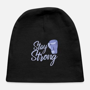 Pointing Boxing Stay Strong - Baby Cap
