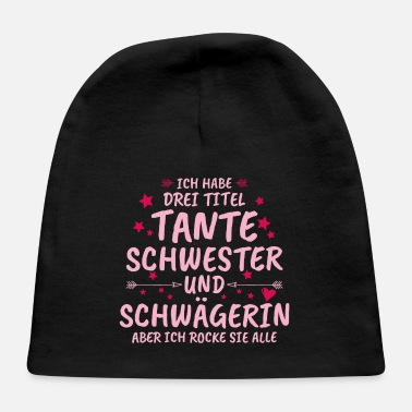 Baby Shower Aunt sister gift kids pregnancy - Baby Cap