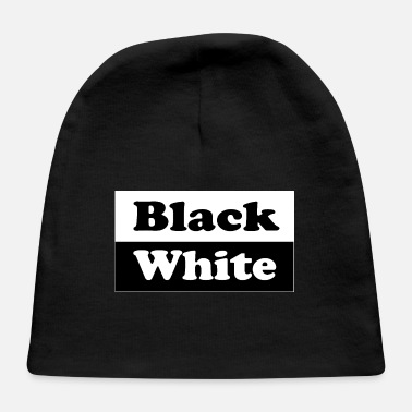 Black And White Black and White - Baby Cap