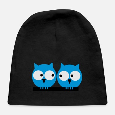 Sumu Lee Two owls - Baby Cap