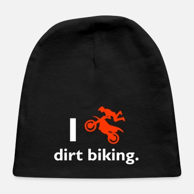 Dirt Bike Dirt biking - Baby Cap