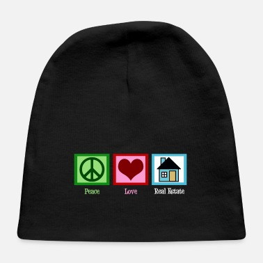 Peace Peace Love Real Estate - Baby Cap