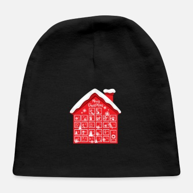 Advent Advent Calendar House - Baby Cap