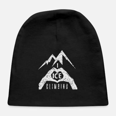 Ice Axe I Love Ice Climbing - Baby Cap