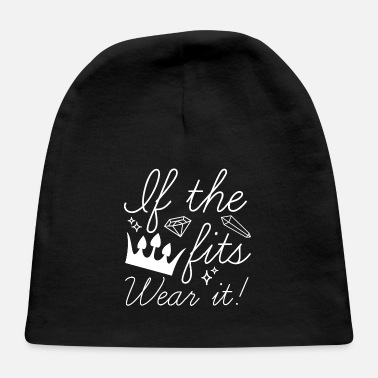 Bling If The Crown Fits - Baby Cap