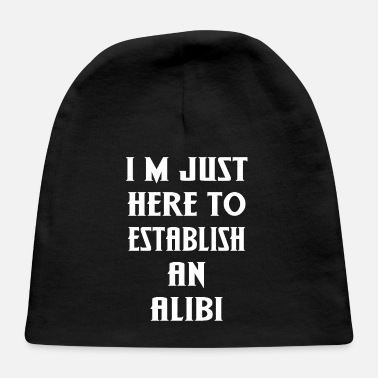 Established Establish an Alibi - Baby Cap