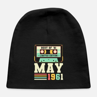 60s 60th Birthday May Gift Vintage 1961 60 Years - Baby Cap