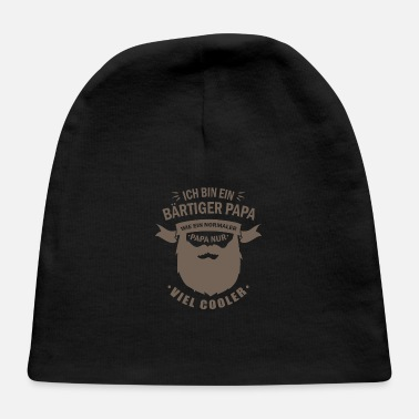 Beard Bearded dad gift fathers day - Baby Cap