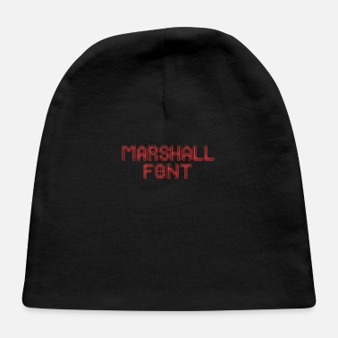 Font Marshall font - Baby Cap
