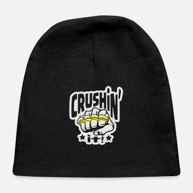 Brass Knuckles Crushin' it, or Crushing it! Brass Knuckles Style - Baby Cap