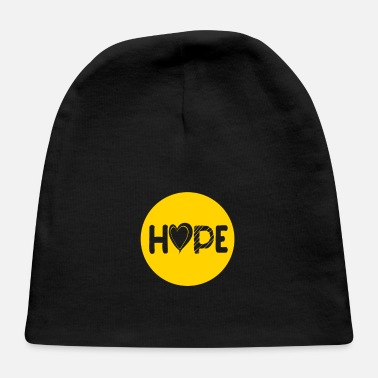 Childhood Hope Childhood Cancer Ribbon Childhood Cancer Awar - Baby Cap