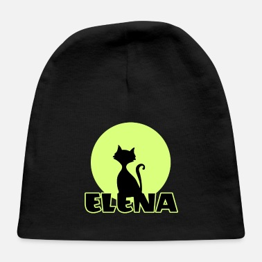 Name Day Elena Name day first name personal gift moonlight - Baby Cap