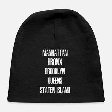 5 Boroughs The 5 Boroughs of NY Distressed List - Baby Cap