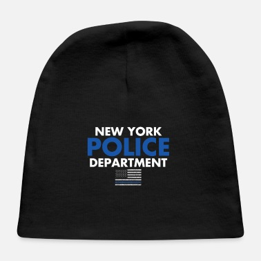 Nypd Support New York Police Department NYPD Thin Blue - Baby Cap