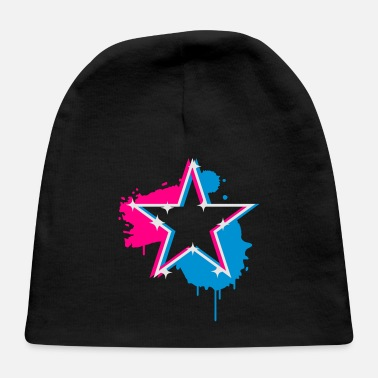 Star Graffiti 3D graffiti star design - Baby Cap