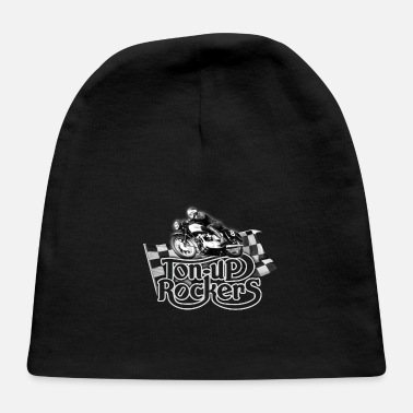Bsa TON-UP rockers (Black t-shirt) - Baby Cap