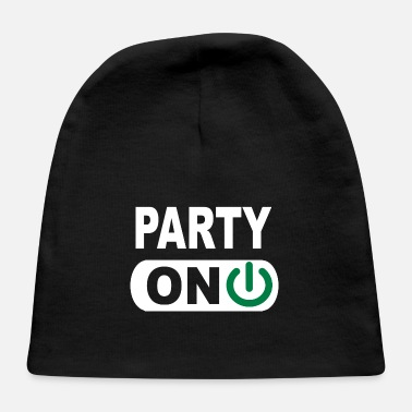 Party Party on - Baby Cap